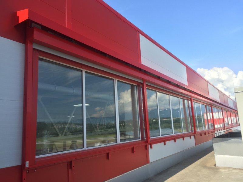 Противопожарные шторы для аэропорта г. Сочи