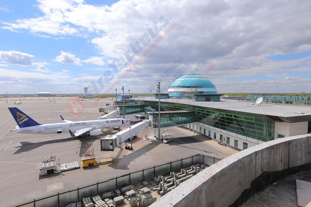 огнезащита аэропорт в Казахстане
