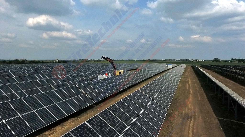 постройка солнечных электростанций