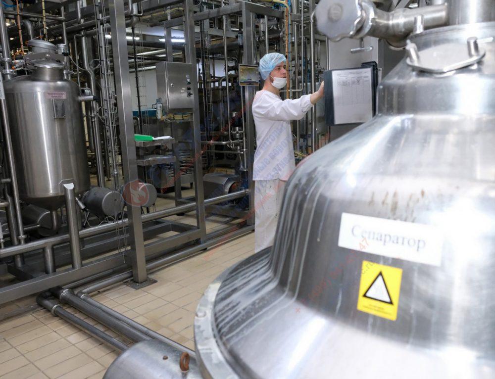 Строительство молокозавода в Алматинской области