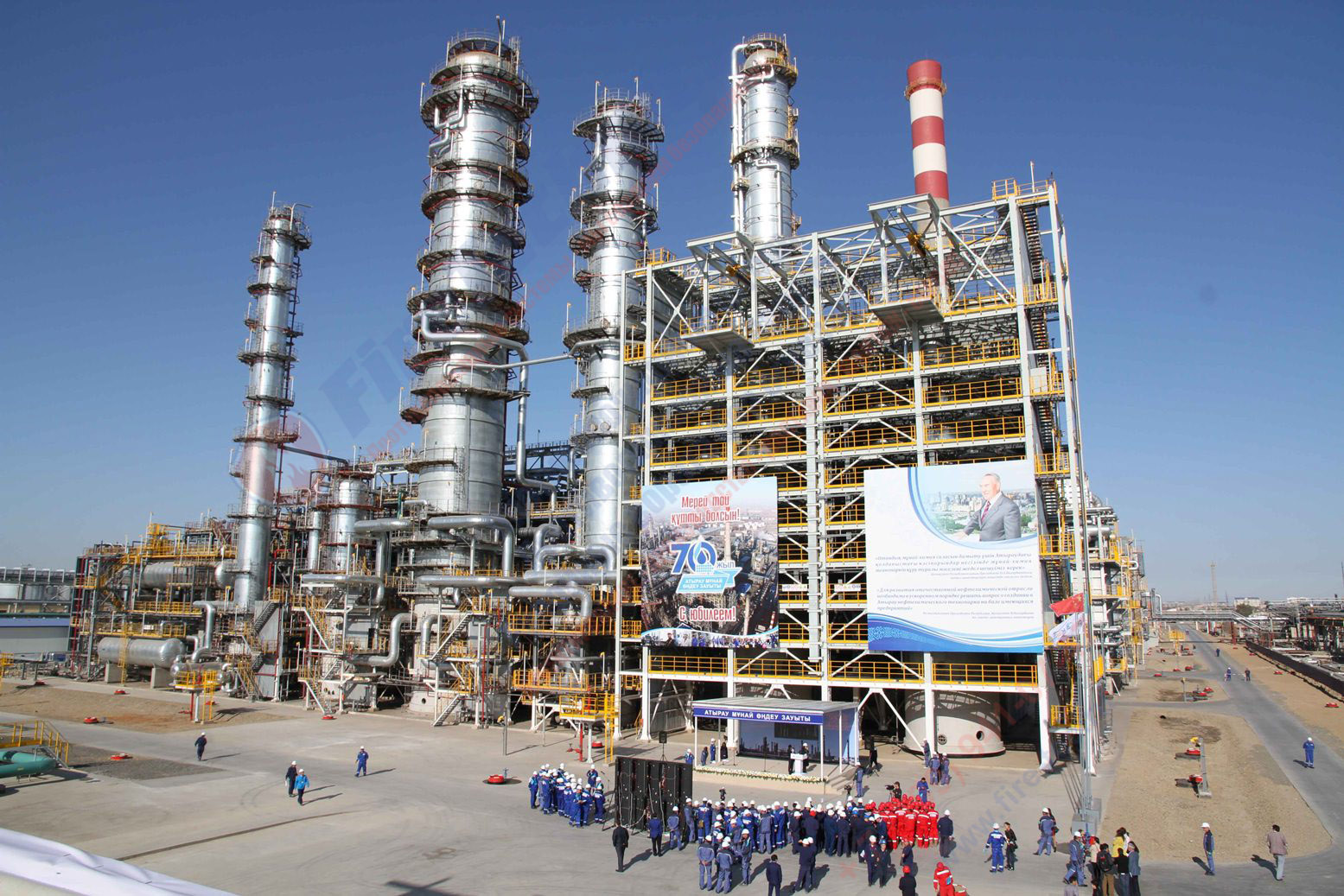 Завод по переработке нефти
