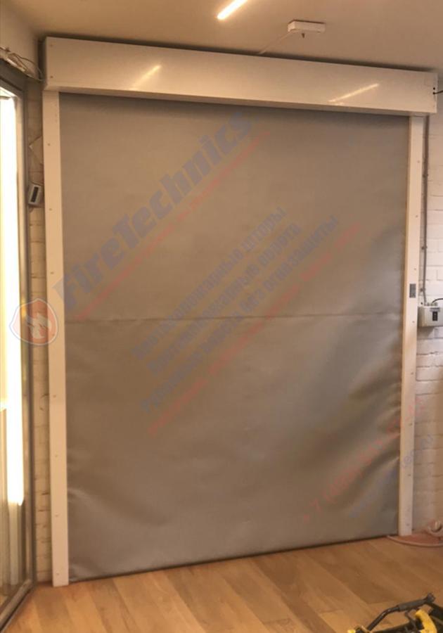 Рулонные противопожарные ворота (шторы) FireTechnics-EI60 в Казахстане